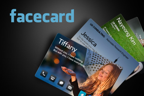 My Facecard iPhone App Review
