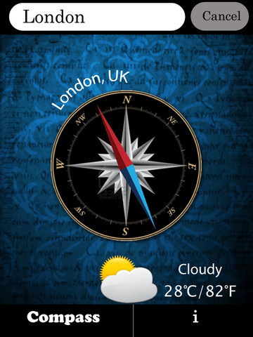Amazing City Compass iPhone App Review