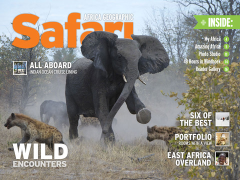 Safari Interactive Magazine iPad App Review