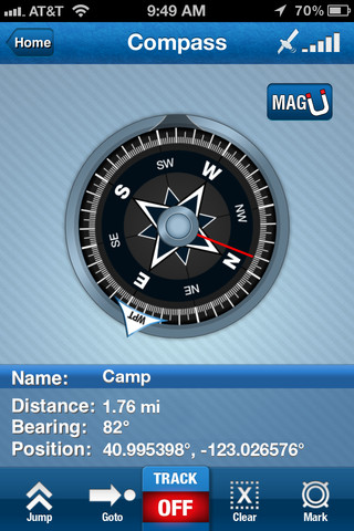Compass iPhone App Review