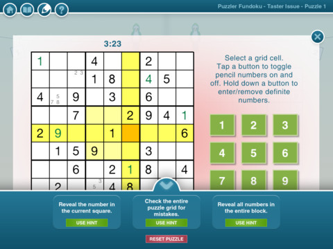 Puzzle Fundoku iPad App Review
