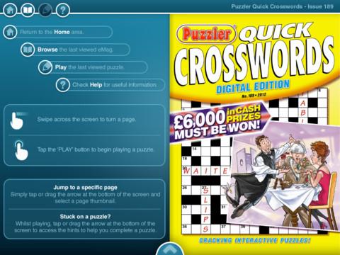 Get Quick Turn Crossword Puzzle Gif