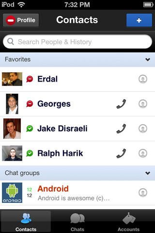 Imo Instant Messenger iPhone App Review