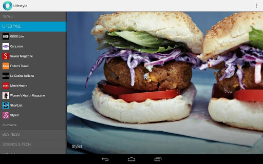 Google Currents Android App review