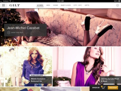 gilt iPhone App Review