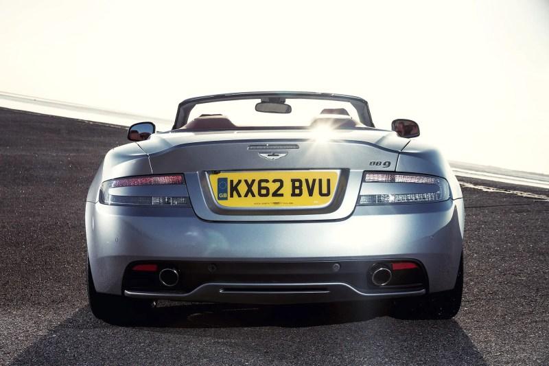 Aston Martin DB9 Volante - Fanaticar Magazin