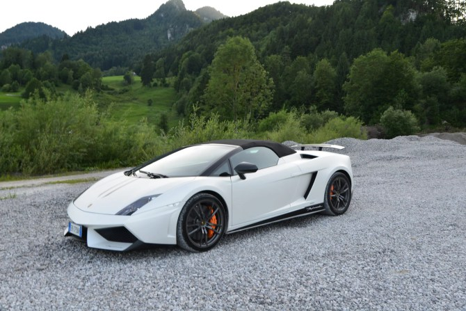 2013 Lamborghini Gallardo LP570-4 Sypder Performante