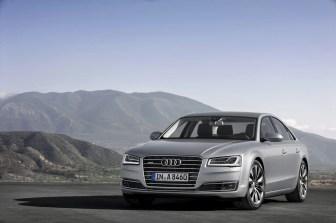 Audi A8 4.0 TFSI quattro cylinder