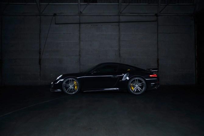 Individualisierungsprogramm für die neuen Porsche 911 Turbo Modelle von TECHART