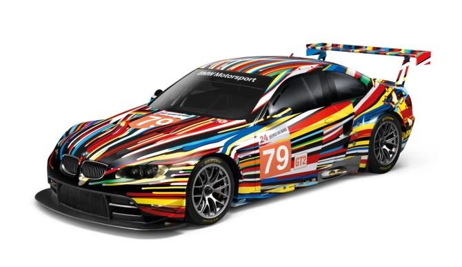 Jeff Koons BMW Art Car feiert Nordamerika-Premiere