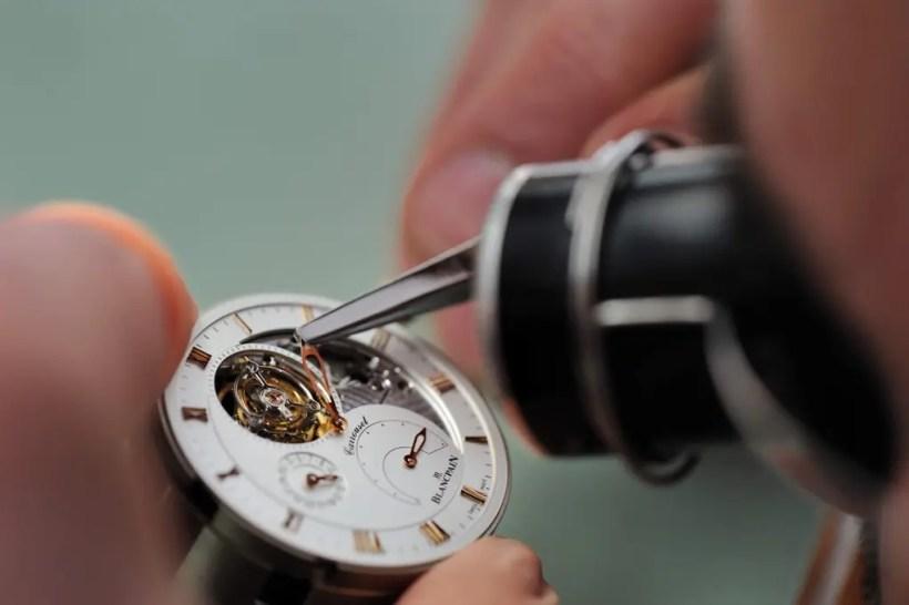 Eine Reise in die 280-jährige Welt der Schweizer Uhrenmarke Blancpain