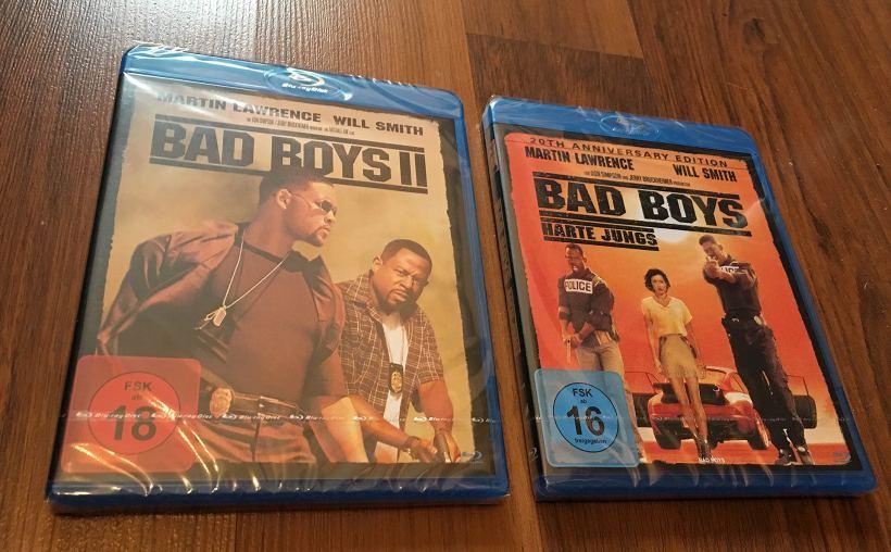 Bad Boys I & II Blu-Ray   Fanaticar Magazin