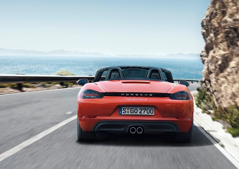 Porsche 718 Boxster und 718 Boxster S | Fanaticar Magazin
