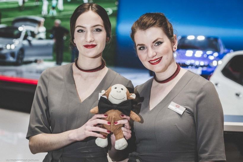 Girls of Geneva Autosalon 2018 by marioroman pictures