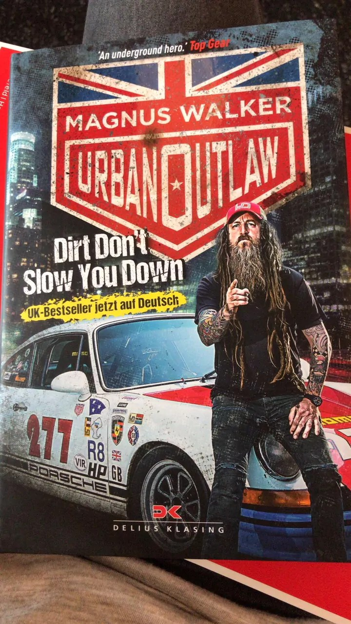 "Magnus Walker - Urban Outlaw ""Dirt don't slow you down"""