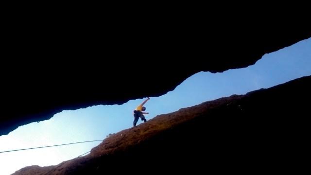escalada deportiva en Calcena, zaragoza