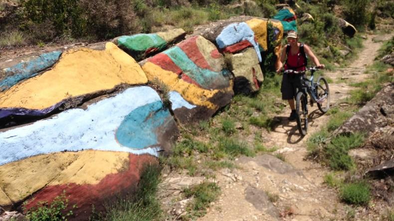 repechos duros en la senda de Izarbe