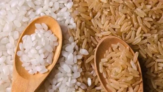 arroz integral ou arroz branco qual o melhor