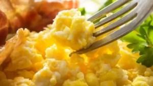 Benefícios do ovo mexido