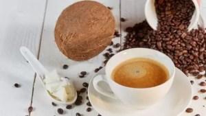 café com oleo de coco