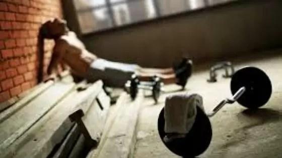 tempo de recuperação muscular e overtraining