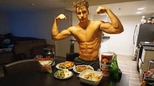 Dieta de 3000 Calorias para Hipertrofia