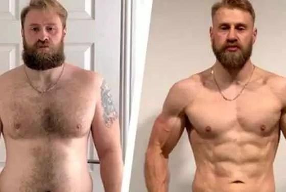 como perder gordura no peito