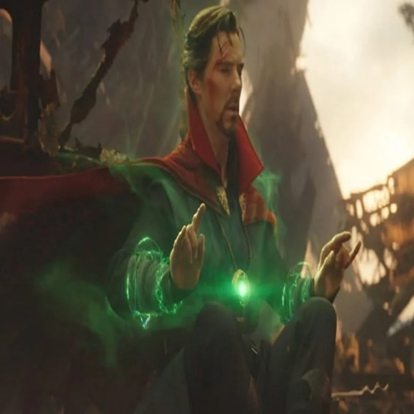 Doctor Strange with the Time Gem