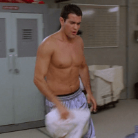 Jesse Metcalfe as John Tucker shirtless in John Tucker Must Die