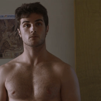 Beau Mirchoff as Jake Kendall shirtless in Born to Race: Fast Track