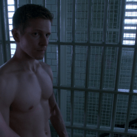 "Matt Czuchry as Cary Agos shirtless in The Good Wife 6x01 ""The Line"""