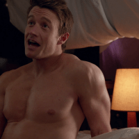 "Robert Buckley as Major Lilywhite shirtless in iZombie 3-10 ""Return Of The Dead Guy"""