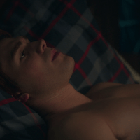 "KJ Apa as Archie Andrews shirtless in Riverdale 2×10 ""Chapter Twenty-Three: The Blackboard Jungle"""