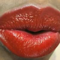 NYX Burlesque High Voltage Lipstick Review