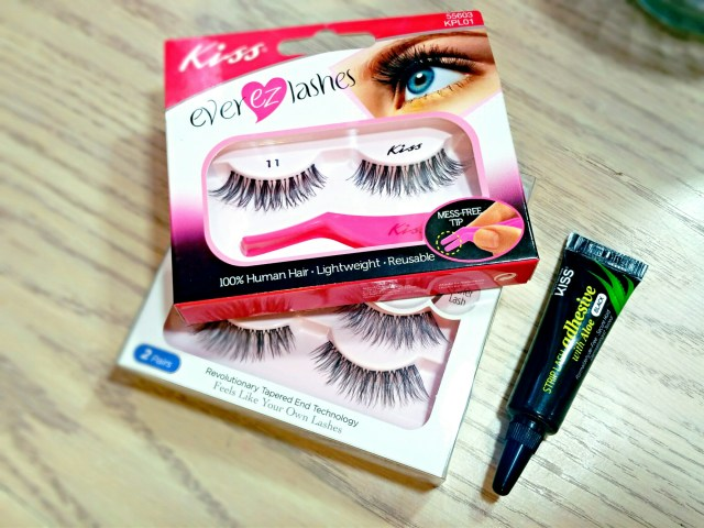 Kiss Ever EZ Lashes 11, Kiss Poise Looks So Natural Lashes