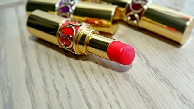 Yves Saint Laurent 15 Extreme Coral Rouge Volupte Lipstick