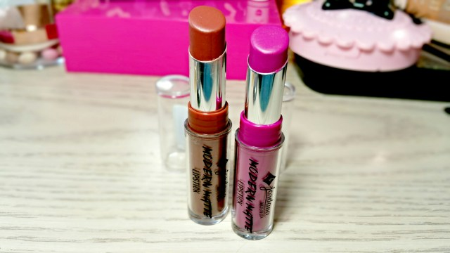 Jordana Matte Frappuccino and Matte It Girl Modern Matte Lipstick