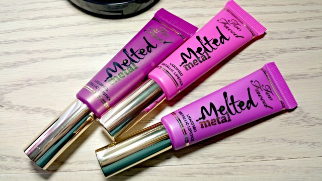 Too Faced Melted Metallic Jelly Dream House Violet Lipstick