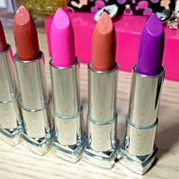 New Maybelline Color Sensational Matte Lipstick Shades!