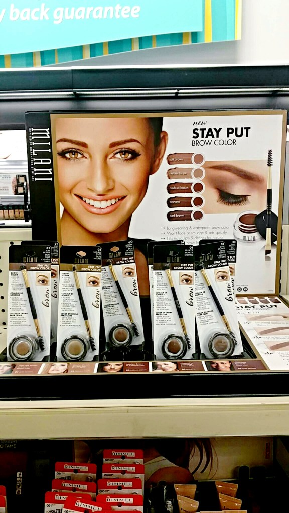 Milani Stay Put Brow Gel Summer 2015