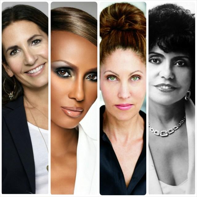 4 Influential Women in Beauty: Bobbi Brown, Iman, Sonia Kashuk, Eunice Johnson