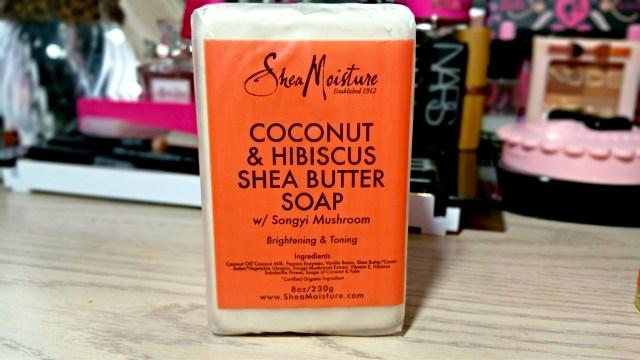 Shea Moisture Coconut & Hibiscus Shea Butter Soap