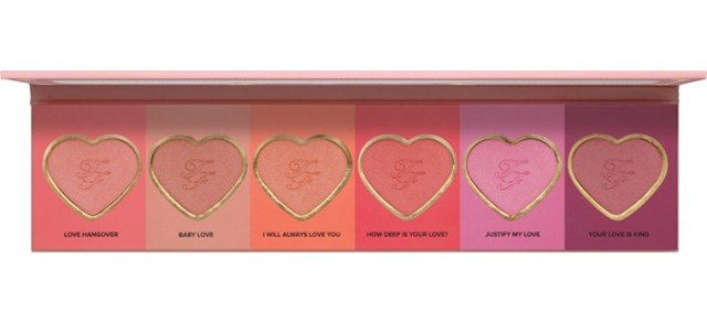 Too Faced Love Flush Blush Wardrobe for Spring 2016