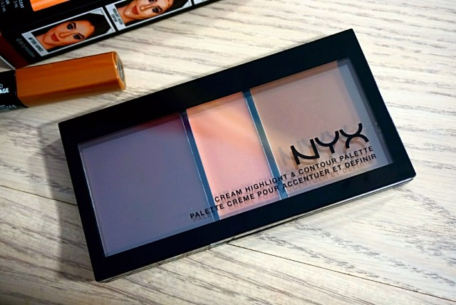 NYX Cream Highlight & Contour Palette Deep