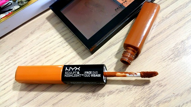 NYX Sculpt & Highlight Face Duo in Chestnut/Sand