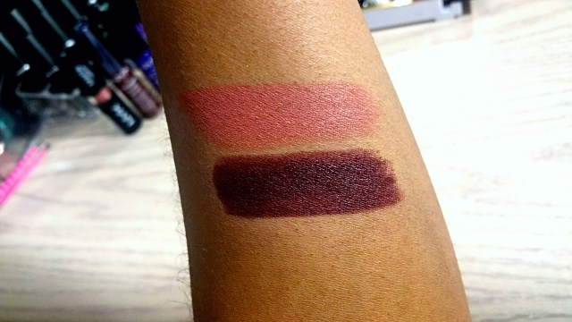 NYX Kiss the Dust, Night Crawler Full Throttle Lipstick