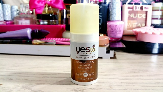 Yes to Coconut Ultra Hydrating Overnight Eye Balm