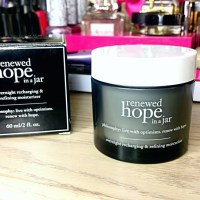 Philosophy Renewed Hope in a Jar Overnight Recharging & Refining Moisturizer Review