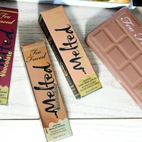 Too Faced Melted Chocolate Lipstick Haul & Swatches