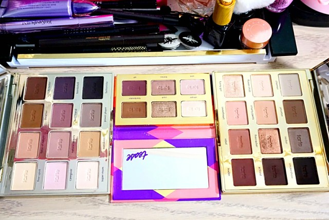 Tarte Tartelette Eyeshadow Collection